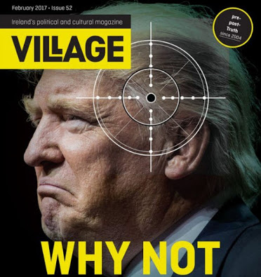 Left Hate Trump - Village